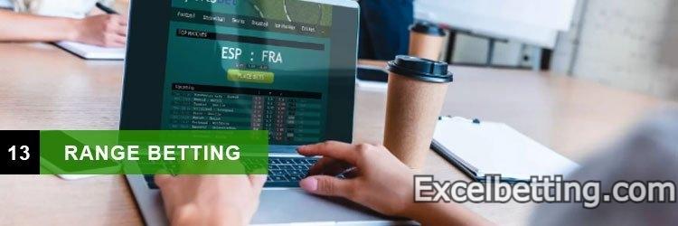 analyze the starts with Range Betting